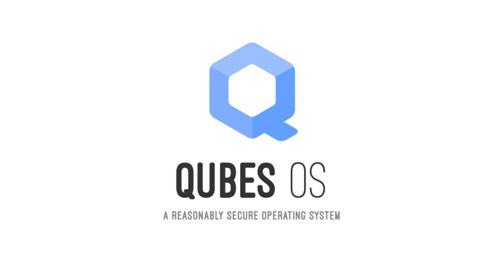 Qubes OS slogan